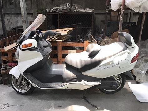 ขาย รถมอเตอร์ไซค์ ซูซูกิ สกายเวฟ Suzuki,Skywave 650cc. ราคาพิเศษ สุดๆ
