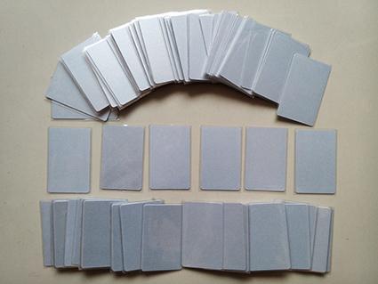 บัตร pvc เล่า เริ่ม 10 ใบ บัตรพีวีซี เมทัลลิค พิ้นประกายเงิน บัตรประกายทอง พิมพ์ใหม่ได้ พิมพ์บัตรรายชื่อสมาชิก บัตร id card บัตรสโมสร Blank Card บัตรพิมพ์ระบบผ้าริบบอน เครื่องพิมพ์มาตรฐานทั่วไป