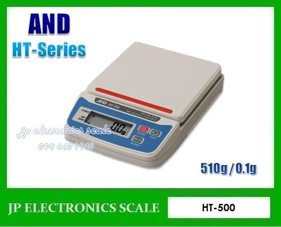 เครื่องชั่งดิจิตอล510g ละเอียด0.1g ยี่ห้อ AND รุ่น HT-500