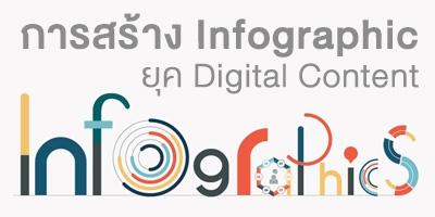 รับสอน จัดอบรม การสร้าง Infographic ยุค Digital Content