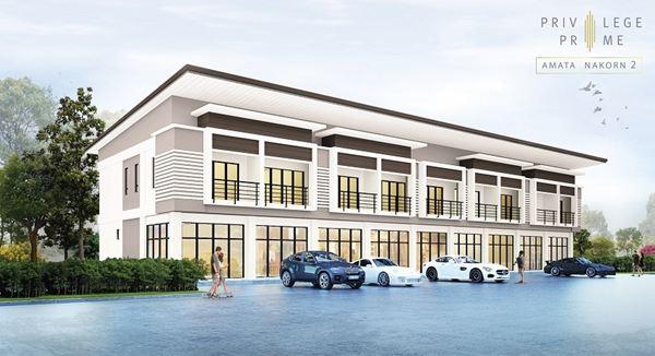 ดีกว่ามั้ย หาบ้าน ที่พักอาศัยได้ ทำธุรกิจได้ อาคารพาณิชย์ ใหม่ ใกล้อมตะ-ชลบุรี