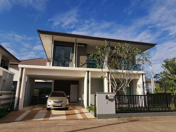 ขายบ้านเดี่ยว ในหมู่บ้าน The River Ubon เดอะริเวอร์อุบล 62 ตรว. 3 ห้องนอน 3 ห้องน้ำ