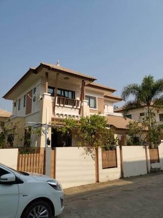 บ้านสาริน 7 ซอย 2 บ้านเดี่ยว 2 ชั้น 184.7 ตรว 260 ตรม พร้อมสนามหญ้าและสวน