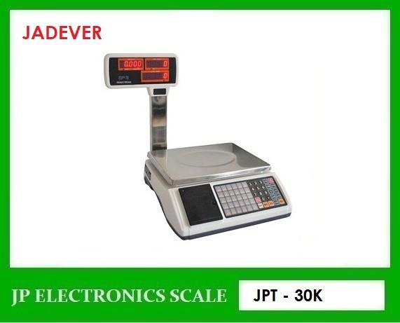 เครื่องชั่งคำนวณราคา30kg เครื่องชั่งคิดราคา JADEVER รุ่น JPT-30K