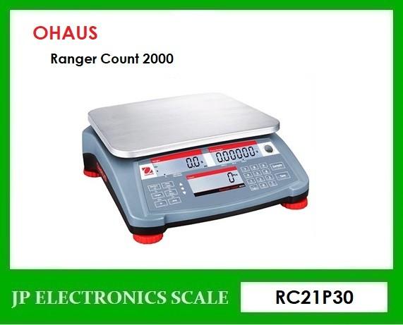 เครื่องชั่งนับชิ้นงาน30kg เครื่องชั่งนับจำนวน ยี่ห้อ OHAUS รุ่น Ranger Count 2000 (RC21P30)