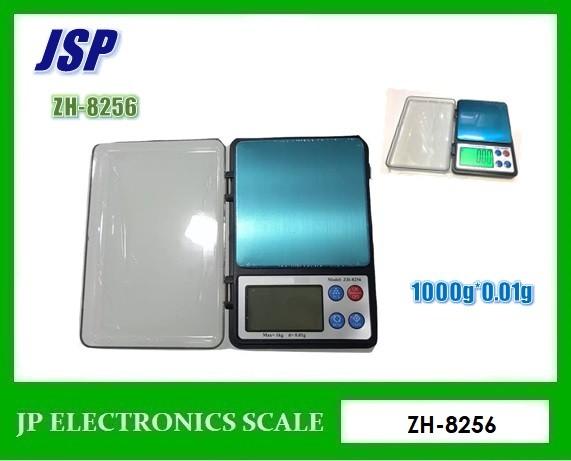 เครื่องชั่งแบบพกพา1000g เครื่องชั่งดิจิตอล1000กรัม ยี่ห้อ JSP รุ่น ZH-8256