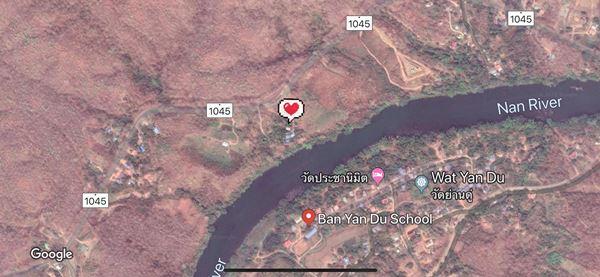 ขายที่ดินทำเลทอง 100 ไร่ ติดแม่น้ำน่านตลอดแนวที่ดิน อ.ท่าปลา จ.อุตรดิตถ์