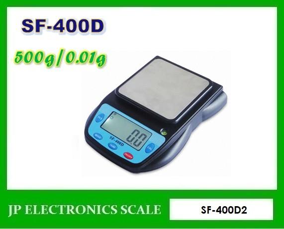 เครื่องชั่งดิจิตอล 500g ตาชั่งดิจิตอล500g ยี่ห้อ SF-400D รุ่น SF400D2
