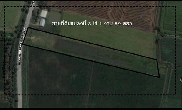 ขายที่ดิน ต.กระจัน อ.อู่ทอง จ.สุพรรณบุรี 3ไร่ 1งาน 89 ตารางวา ถมที่ดินแล้ว ติดถนนลาดยาง มีน้ำปะปา ไฟฟ้า เหมาะจะอยู่อาศัยและเพาะปลูก