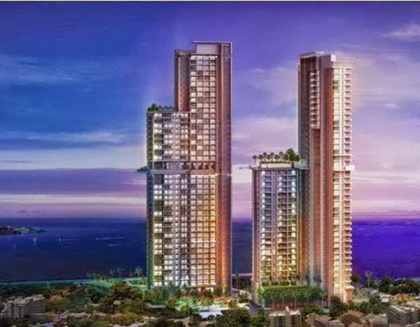 คอนโด The Riviera Wongamat พัทยาเหนือ 31.65 ตร.ม. ชั้น 10 วิวสระน้ำ ตกแต่งด้วยเฟอร์นิเจอร์บิ้วอิน