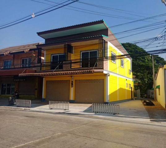 ขายด่วน อาคารพาณิชย์ใหม่ 15 ตร.ว ต.ปากแพรก อ.เมืองกาญจนบุรี ใกล้ mini big-c