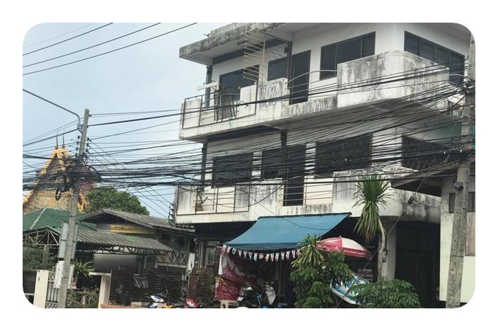 ขายอาคารพาณิชย์ 3 ชั้น ถนนเทศบาล 4 ต.ปากเพรียว อ.เมือง จ.สระบุรี เนื้อที่ 22 ตรว.