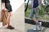 กางเกงยีนส์ขาสั้น เทรนด์แต่งตัวสุดเท่ห์ แฟชั่นง่ายๆใส่สบายของคุณผู้ชาย