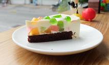 โยเกิร์ตปีโป้มูสเค้ก วิธีทำเค้กง่าย ๆ คัลเลอร์ฟูล เคี้ยวเพลิน ๆ